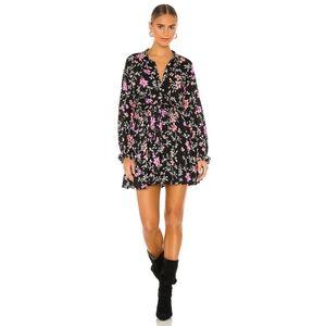 NEW Free People Lighten Up floral mini dress